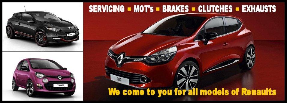 Renault Harringtons Mobile Repair Technician